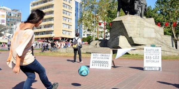 Antalya'da Kizli-Erkekli Eylem