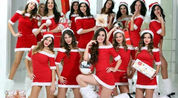 Antalya'da Noel Anne Çilginliği