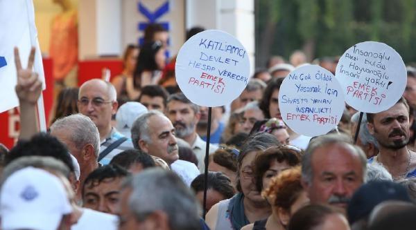 Antalya'da Sivas Katliamı Ve Soma Birlikte Anıldı