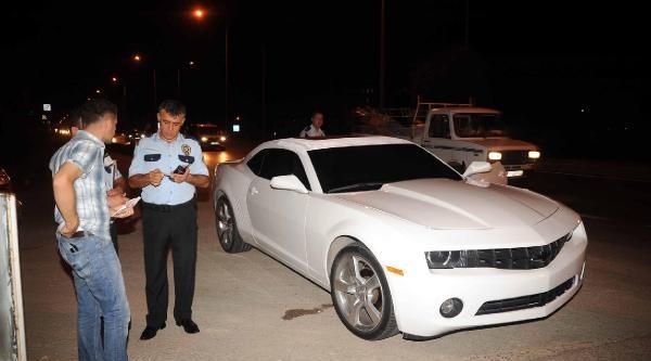 Antalya'da 'spor Otomobil Gasp Edildi' Alarmı