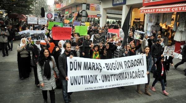 Antalya'da Uludere Protestosu