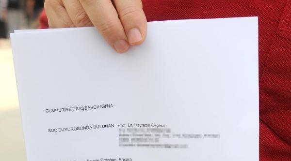 Antalya'dan Erdoğan Hakkında Suç Duyurusu