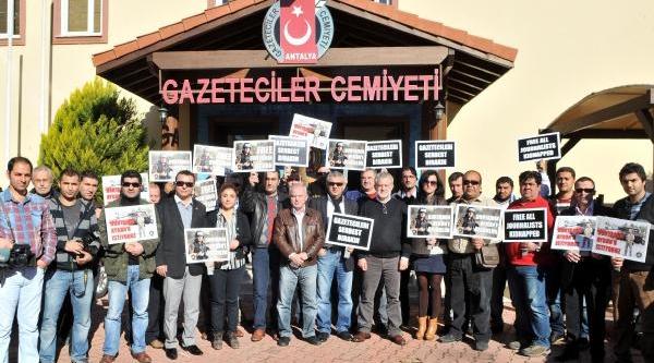 Antalyali Gazeteciler: Bünyamin'e Özgürlük
