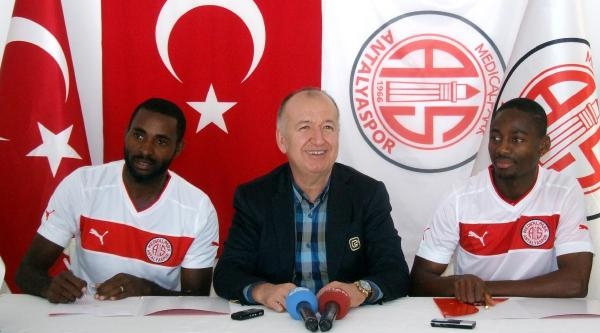 Antalyaspor'da 2 Imza Daha