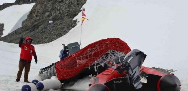 Antarktika'daki ilk Türk mesaiye başladı...