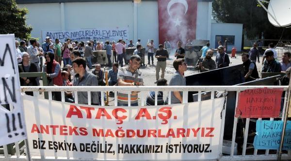 Anteks İşçileri Antalya Karayolunu Kapattı