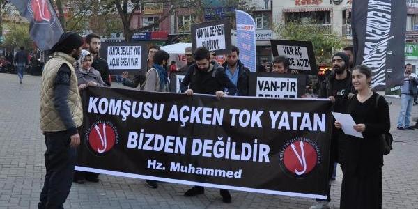 'antikapitalist Müslümanlar'in Eylemi Sona Erdi