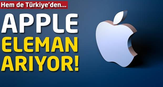 Apple Türkiye'den eleman arıyor!