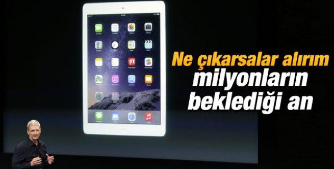 Apple yeni iPad Air 2'yi tanıttı.