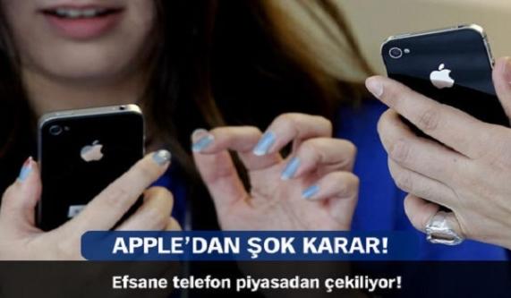 Apple'dan şok karar!