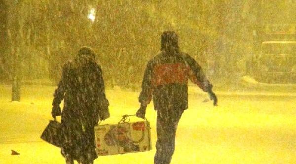 Ardahan'da 49 Köy Yolu Kardan Kapandi (2)