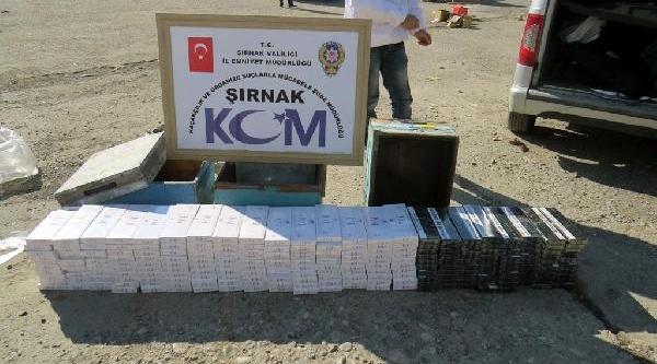 Ari Kovanlarinda 2 Bin 300 Paket Kaçak Sigara