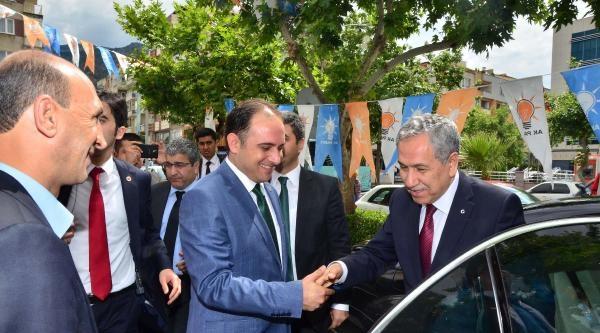 Arınç: Cumhurbaşkanlığı İçin Başbakan Erdoğan'ı İşaret Etti