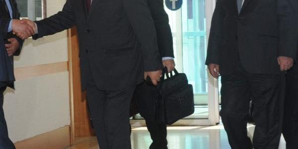 Arinç, Türkiye'ye Döndü