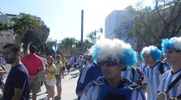 Arjantin-bosna Hersek Maçı Öncesi Renkli Görüntüler