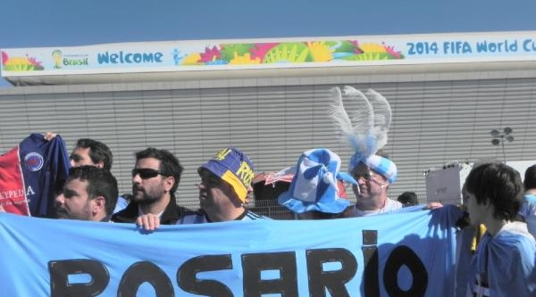 Arjantin-isviçre Maçına Olağanüstü Güvenlik Önlemi