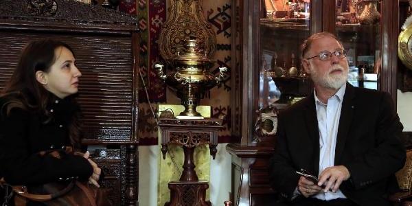 Arjantinli Yazar Alberto, Tanpinar'In Izini Erzurum'Da Sürdü