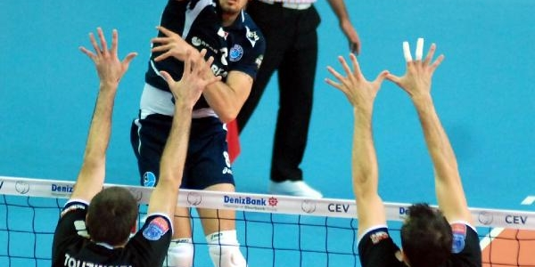 Arkasspor - Berlin Recycling Volleys Maçi Fotoğraflari