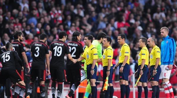 Arsenal - Beşiktaş Maçından Fotoğraflar (1)