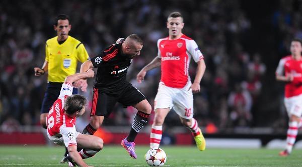 Arsenal - Beşiktaş Maçından Fotoğraflar (3)