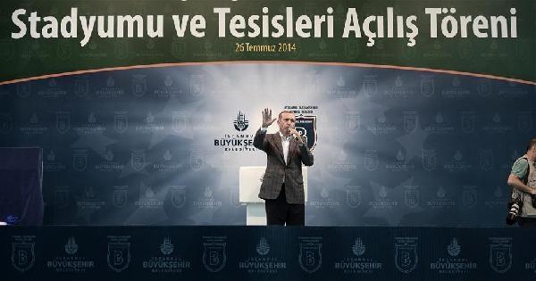 Arşiv Fotoğraf/  Erdoğan, Başakşehir Stadı Açılışında Futbol Oynadı