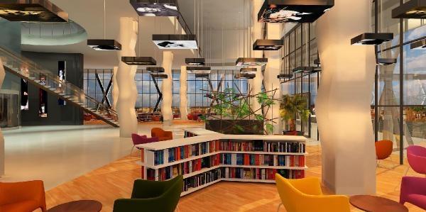 Artvin'E Ilginç Kütüphane Binasi