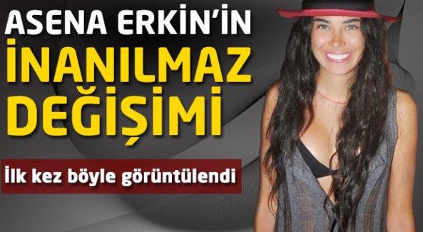 Asena Erkin'in inanılmaz değişimi!