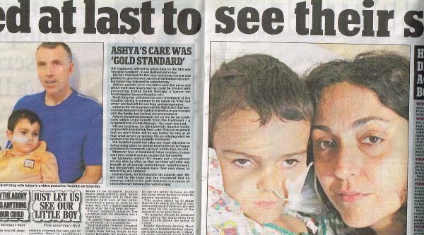 Ashya'nın Anne Babası Serbest Bırakıldı