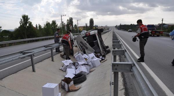 Aşırı Hız Kaza Getirdi: 5 Yaralı