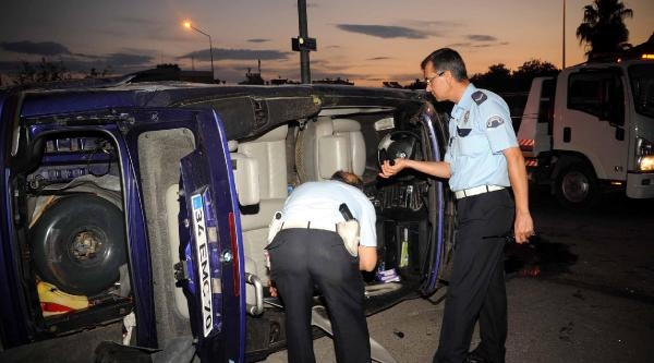 Aşırı Hız Kazası: 1 Ölü, 3 Yaralı