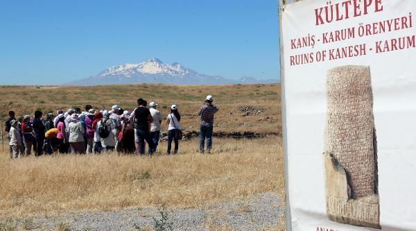 Asur Ticaret Kolonisine Kültür Turları Başlıyor