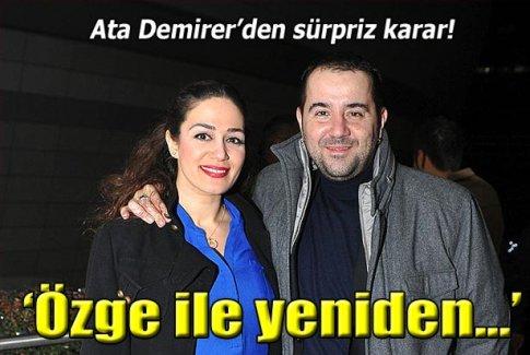 Ata Demirer'den sürpriz karar!