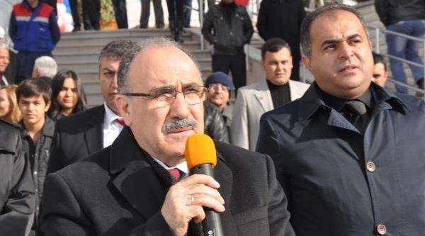 Atalay, Kirikkale'de Sadettin Saran Tarafindan Yaptirilan Spor Salonunu Açti