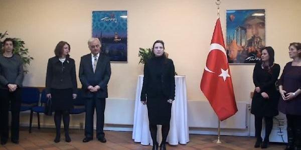 Atatürk Danimarka'Da  Anildi
