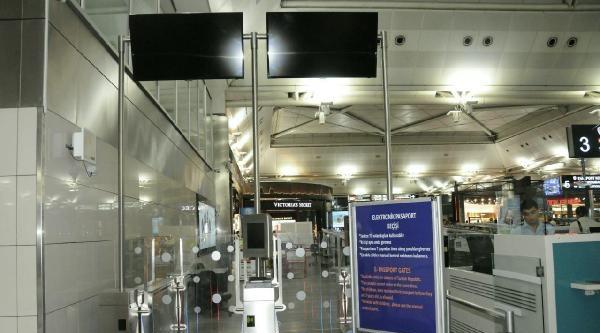 Atatürk Havalimanı'na Otomatik Bankolar Yerleştirildi