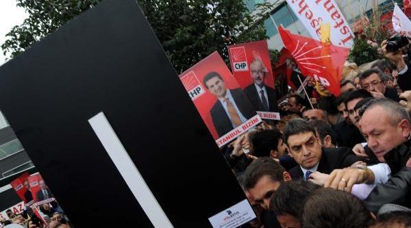Atatürk Havalimani'Nda Kiliçdaroğlu'Na Coşkulu Karşilama