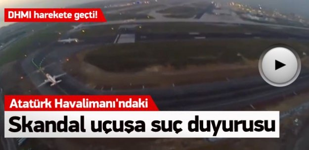 Atatürk Havalimanı'ndaki skandal uçuşa suç duyurusu!