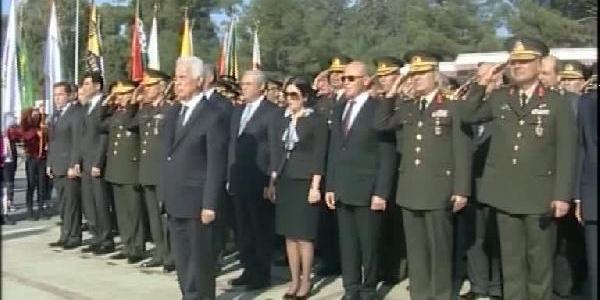 Atatürk Ölümünün 75'Inci Yilinda Kktc'De Anildi