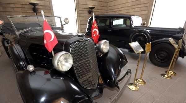 Atatürk'ün 80 Yıllık Makam Otomobilleri 58 Yıl Aradan Sonra Bakıma Alınıyor / Ek Fotoğraflar