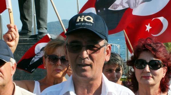 Atatürk'ün Büstüne Yapılan Saldırılar Marmaris'te Kınandı