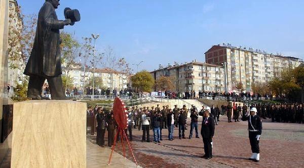 Atatürk'ün Elaziğ'a Gelişinin 76'nci Yil Dönümü Kutlandi