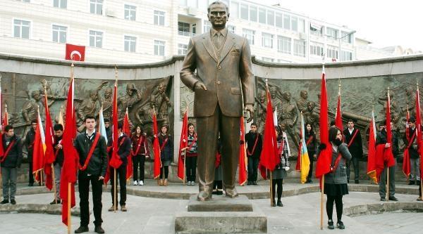 Atatürk'ün Kayseri'ye Gelişi Törenle Kutlandi