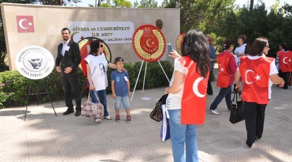 Atatürk'ün Sivas'a Gelişinin 95'inci Yıl Dönümü Kutlandı