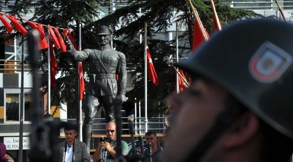 Atatürk'ün Tokat'a Gelişinin 95'inci Yıl Dönümü Kutlandı