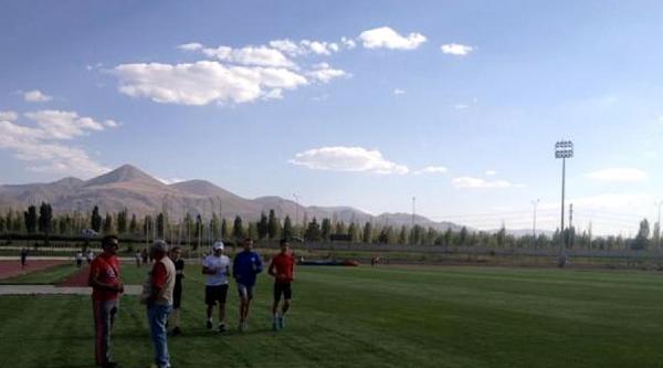 Atletler, Olimpiyatlar İçin Erzurum Kampında