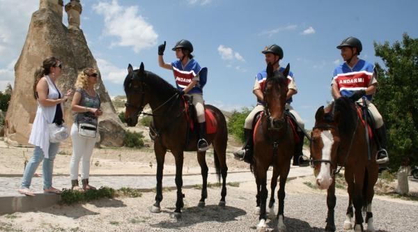 Atlı Jandarma Devriyeleri Görevde