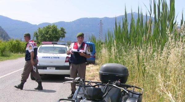 Atv'den Düşen İki Turist Yaralandı