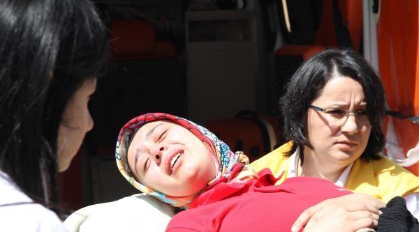 Av Malzemeleri Fabrikasında Patlama: 6  Yaralı