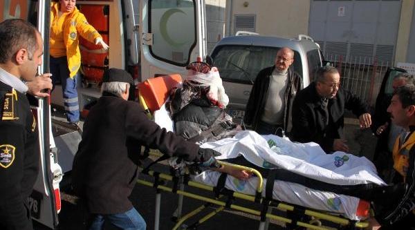 Av Tüfeği Elinde Patlayan Genç Ağir Yaralandi