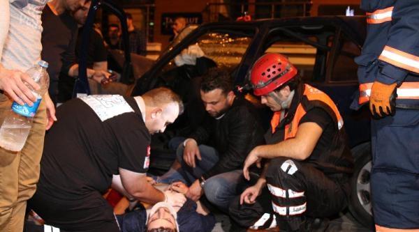 Avcılar'da Kaza: 3 Yaralı